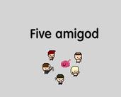 Five amigos IDLE