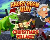 Play Angry Gran Run Xmas Village WebGL