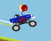 Play 2D Car Physics Platform - Mountain Top Climb Racing Driving KIT