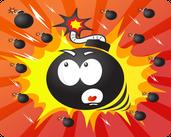Play Bomb Rain – Tap Reflex Game