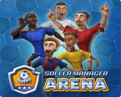 Play Soccer Manager Arena