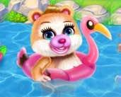 Play Cute Bear Caring