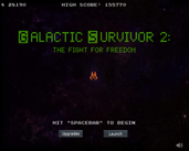 Play Galactic Survivor 2: The Fight For Freedom