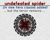 Play undefeated spider