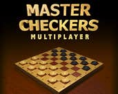 Play Master Checkers Multiplayer