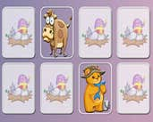 Play Animals Memory Game