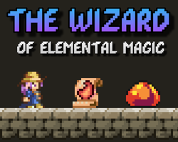 Play The Wizard of elemental magic