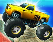 Play Monster Truck Port Stunt